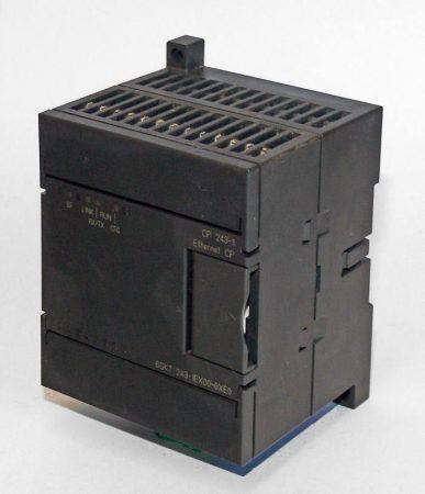 SIEMENS S7-200 6GK7 243-1EX00-0XE0 kommunikációs modul (használt)