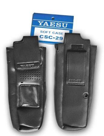 Yaesu CSC-29 könnyű műbőr tok