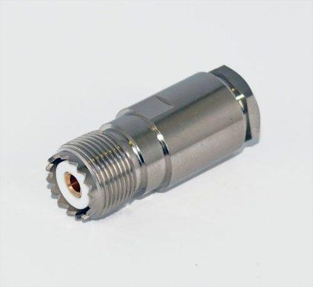 UHF aljzat H-1000 koax kábelhez, szerelhető