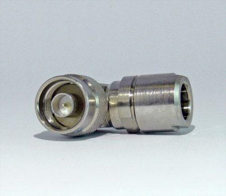 N dugó könyök, csavaros, H1000/RF400/7810A koax kábelhez