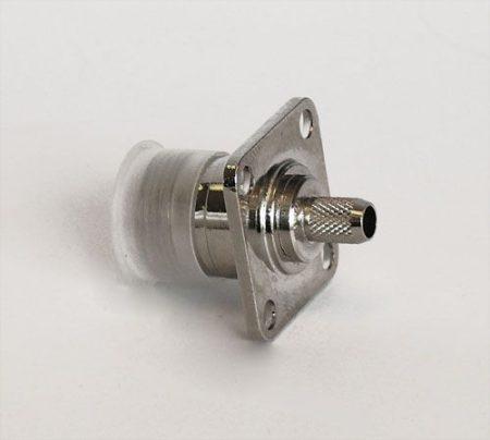 N aljzat beépíthető, crimpelhető, H155/RF240/7808A kábelhez