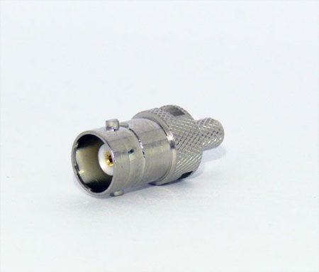 BNC aljzat RG-58 koax kábelhez, crimpelhető