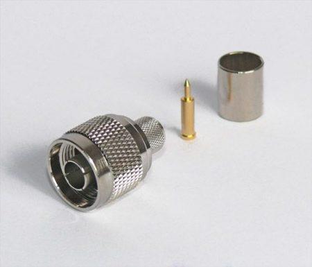 N dugó crimp/crimp H-1000 koax kábelhez