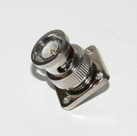 BNC dugó karimás, rögzíthető (4 x 3mm)
