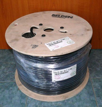 Belden 7810A (RF400, H1000) koax kábel  (152m-es dob, nem vágható)