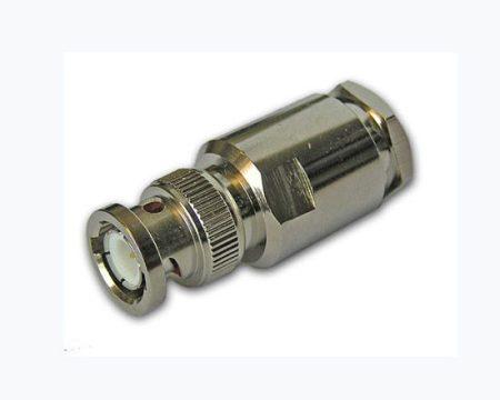 BNC dugó H1000/RF400/7810A koax kábelhez, szerelhető
