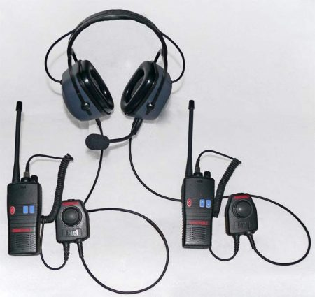 "CHP750D zajvédett ""Dual Comm"" fejszett (Dual Communication headset)"