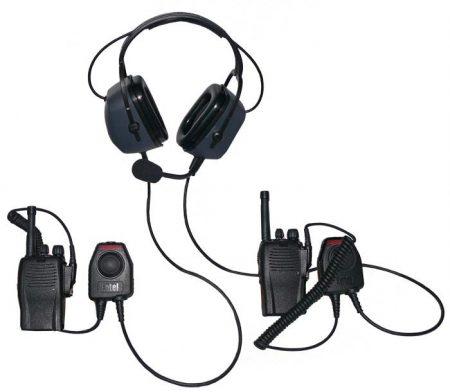 "CHP450D zajvédett ""Dual Comm"" fejszett (Dual Communication Headset)"