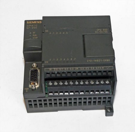 SIEMENS S7-200 CPU222   6ES7 212-1AB21-0XB0  (használt)