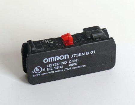 Omron J73KN-B-01 - Segédkapcsoló 1NO