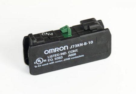 Omron J73KN-B-10 - Segédkapcsoló 1NO