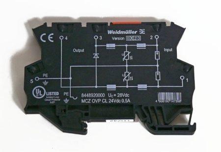 MCZ OVP CL 24VDC 0,5A túlfeszültség levezető adathálózatokhoz