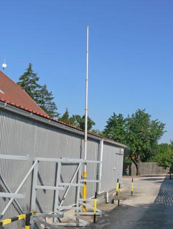 Teleszkópos pneumatikus antennaárbóc (használt)